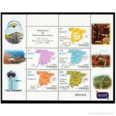 Sellos: ESPAÑA 2001. EDIFIL 3855. MINISTERIO DE FOMENTO. NUEVO** MNH. Lote 194717560