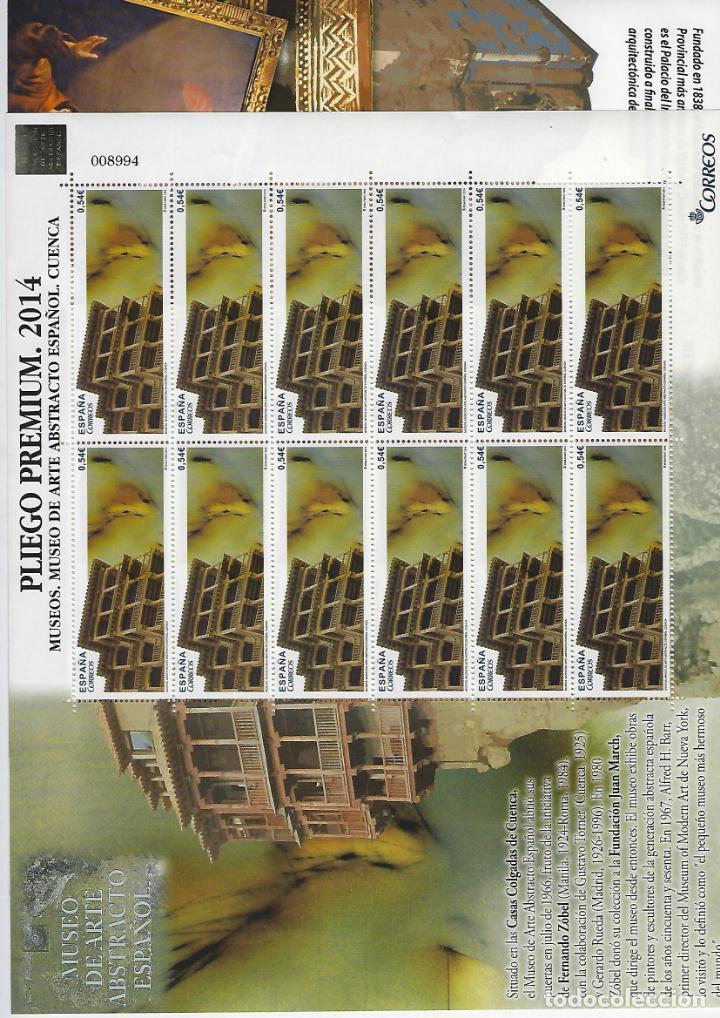 MP 2/3 PREMIUN MINIPLIEGO MUSEOS ESPAÑA 4873/74 BUEN ESTADO (Sellos - España - Pruebas y Minipliegos)