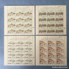 Timbres: 1991-ESPAÑA MP 24/27 MNH** 3100/3103 EXPO SEVILLA 92 - MINIPLIEGOS -. Lote 245774615