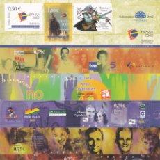Selos: 4334-60 -ESPAÑA 2002 NUEVO HOJA BLOQUE SALAMANCA CIUDAD EUROPEA DE LA CULTURA. Lote 199659776