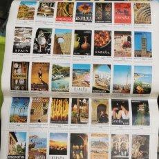 Sellos: 49 SELLOS - VIÑETAS COLECCIÓN COMPLETA ESPAÑA PUBLICACIONES DEL MINISTERIO DE INFORMACIÓN Y TURISMO.. Lote 199999981