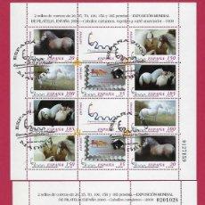 Sellos: ESPAÑA.EXPOSICIÓN MUNDIAL FILATELIA.ESPAÑA 2000. Lote 201746090