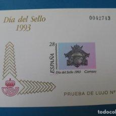 Sellos: 1993, PRUEBA DE LUJO Nº 7, DIA DEL SELLO, EDIFIL 28. Lote 203239911