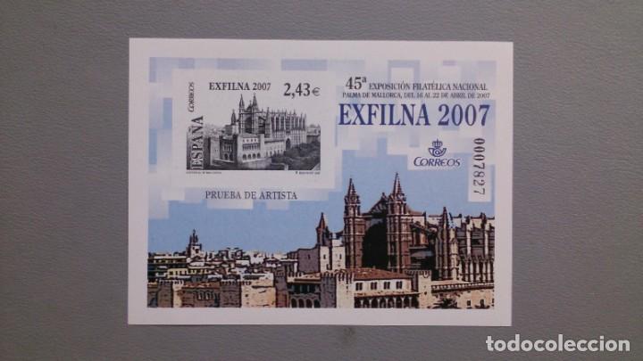 ESPAÑA - 2007 - PRUEBA OFICIAL - EDIFIL 94 - MNH** - NUEVA - EXFILNA 2007. (Sellos - España - Pruebas y Minipliegos)