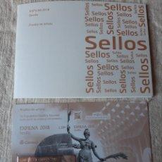 Sellos: 2018 PRUEBA ARTISTA EXFILMA SEVILLA SELLO ORO .FILATELIA COLISEVM. Lote 204522563