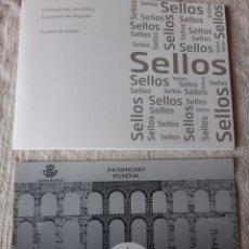 Sellos: SEGOVIA ECUDUCTO PRUEBA ARTISTA ESPAÑA 276. FILATELIA COLISEVM. Lote 204524195