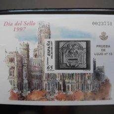 Selos: PRUEBA OFICIAL. EDIFIL 62 **. ESPAÑA 1997. Nº 23751 . PRUEBA DE LUJO 13. Lote 205359368