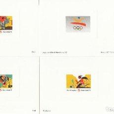 Sellos: BARCELONA 92 - PRUEBAS ARTISTA 1 EMISIÓN SELLOS PREOLIMPICOS. Lote 205563428