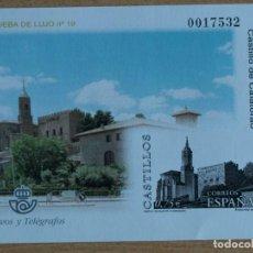 Sellos: PRUEBA OFICIAL 77. CASTILLO DE CALATORRAO 2002. Lote 206266667
