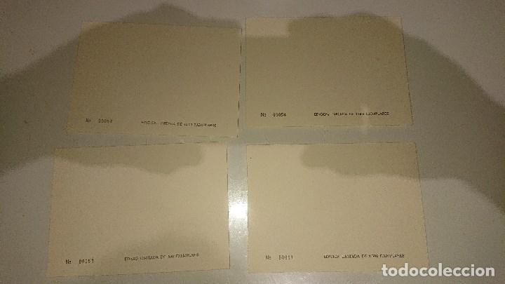 Sellos: 4 HOJAS EXPOSICION DE HISTORIA POSTAL DE CATALUÑA 1974 , DISTINTA NUMERACION . LEER DESCRIPCION - Foto 2 - 206884833