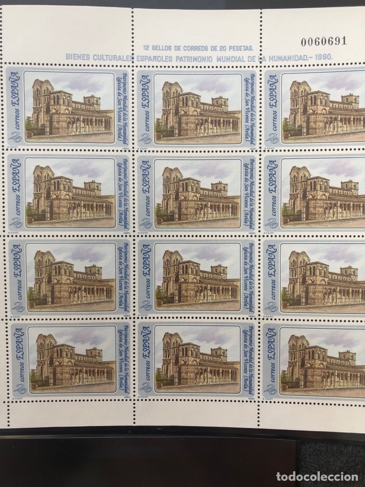 Sellos: Mini pliegos Patrimonio mundial de la humanidad 1990 mp 20,21,22,23 - Foto 3 - 207198331