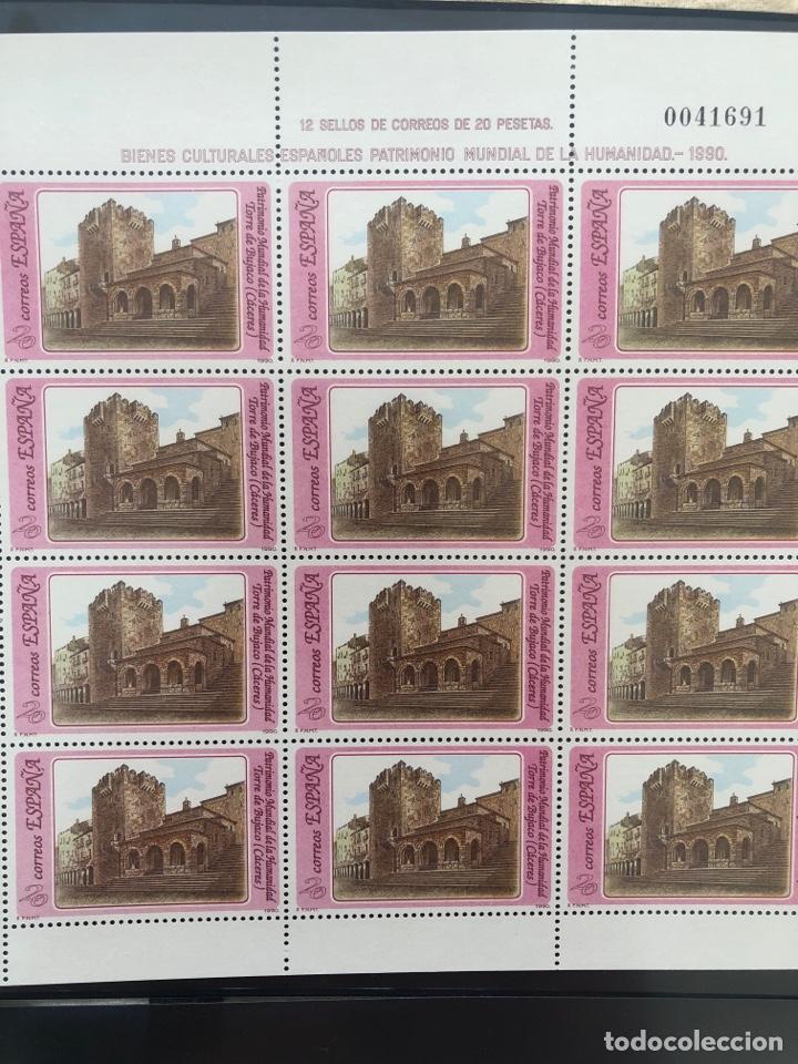 Sellos: Mini pliegos Patrimonio mundial de la humanidad 1990 mp 20,21,22,23 - Foto 4 - 207198331