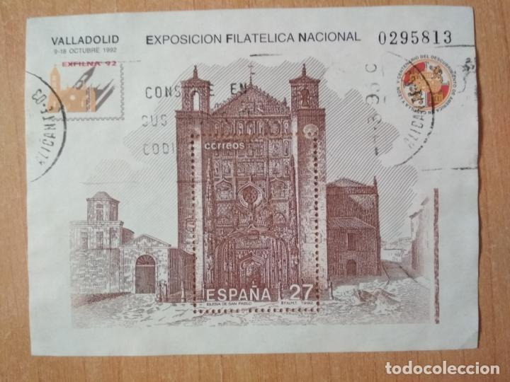 EXPOSICIÓN FILATELIA NACIONAL - VALLADOLID EXFILNA'92 - Nº 0295813 (Sellos - España - Pruebas y Minipliegos)