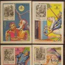 Sellos: ESPAÑA PRUEBA OFICIAL - EDIFIL Nº 86/89 - IV CENT. PUBLICACION DEL QUIJOTE - MISMA NUMERACION. Lote 209693188