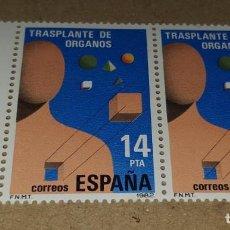 Sellos: SELLOS ESPAÑA LOTE DE 2 SELLOS SIN USAR. Lote 210375916