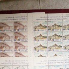 Sellos: SERIE COMPLETA MINI PLIEGOS DE 12 SELLOS MP 24 25 26 Y 27. Lote 212072910