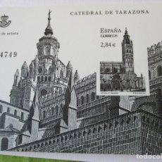 Timbres: ESPAÑA 2011. CATEDRAL DE TARAZONA. PRUEBA DE ARTISTA. VALOR EDIFIL 14 EUR.. Lote 212427578