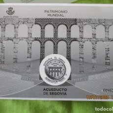 Timbres: ESPAÑA 2016. PATRIMONIO MUNDIAL. ACUEDUCTO DE SEGOVIA. PRUEBA DE ARTISTA. VALOR EDIFIL 16 EUR. Lote 212496842