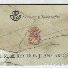 Sellos: CARNET SM REY DON JUAN CARLOS. CORREOS Y TELÉGRAFOS. AÑO 1998. EDIFIL 3544 C. Lote 215870853
