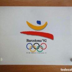 Sellos: BARCELONA 92. 1A A 6A EMISIONES SELLOS PREOLIMPICOS (1988 COOB'92) NUMERADAS. EN MALETIN. LEER!!. Lote 218806370