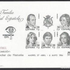 Sellos: ESPAÑA, 1984 EDIFIL Nº 6, EXPOSICIÓN MUNDIAL DE FILATELIA, ESPAÑA 84, MADRID. Lote 222111540