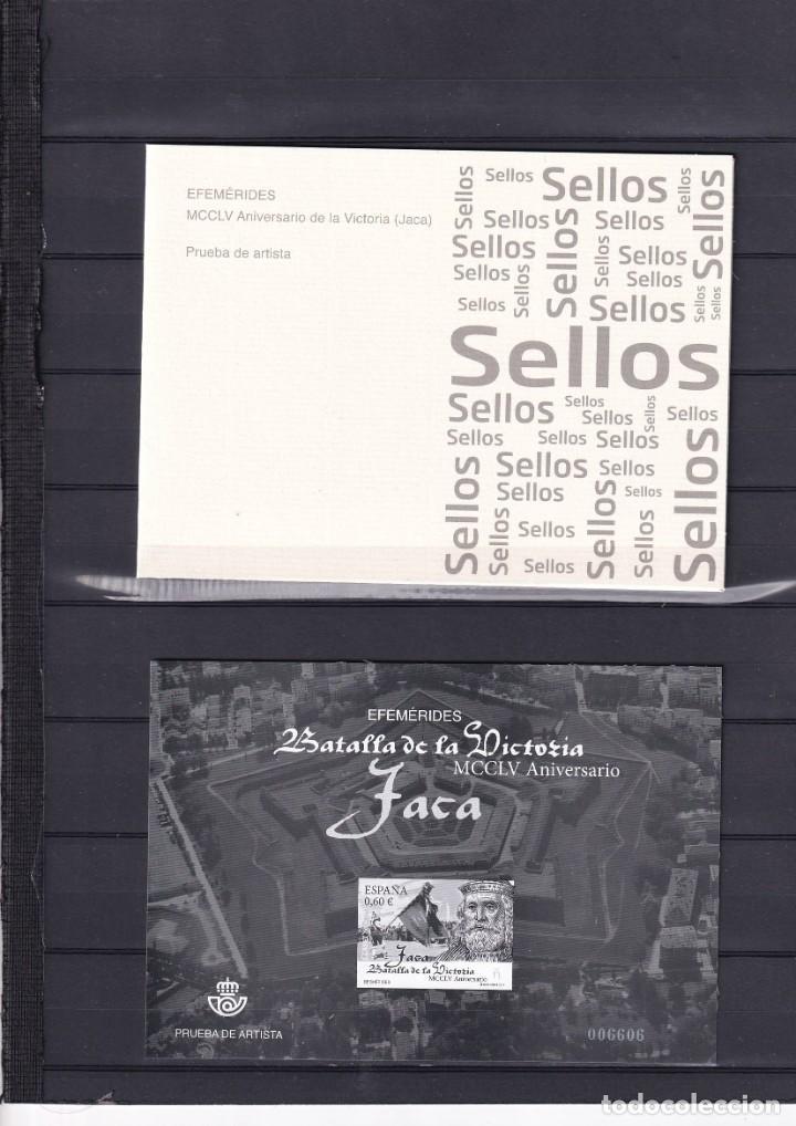 SELLOS ESPAÑA OFERTA PRUEBA DE LUJO Nº 130 VALOR DE CATALOGO 26€ CON CARPETILLA ORIGINAL (Sellos - España - Pruebas y Minipliegos)
