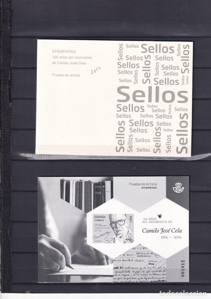 SELLOS ESPAÑA OFERTA PRUEBA DE LUJO Nº 132 VALOR DE CATALOGO 26€ CON CARPETILLA ORIGINAL (Sellos - España - Pruebas y Minipliegos)