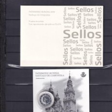 Sellos: SELLOS ESPAÑA OFERTA PRUEBA DE LUJO Nº 136 VALOR DE CATALOGO 36€ CON CARPETILLA ORIGINAL. Lote 222575967