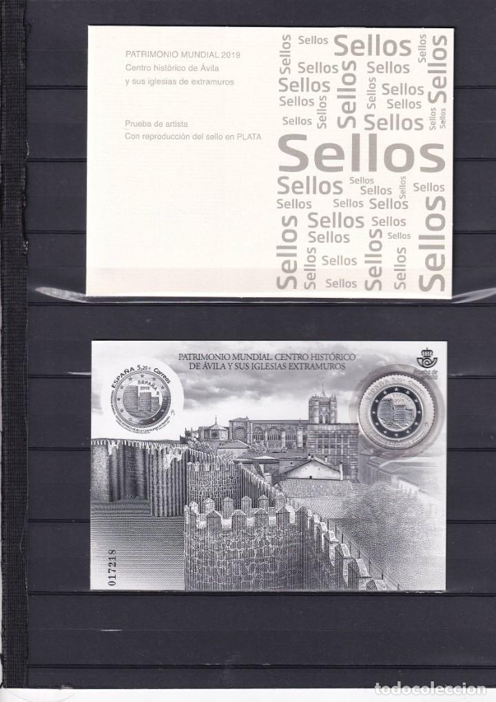 SELLOS ESPAÑA OFERTA PRUEBA DE LUJO Nº 141 VALOR DE CATALOGO 42€ CON CARPETILLA ORIGINAL (Sellos - España - Pruebas y Minipliegos)