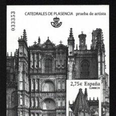 Francobolli: PRUEBA OFICIAL CORREOS DE ESPAÑA – EDIFIL Nº 101 - 2010 CATEDRALES DE PLASENCIA. Lote 224314002