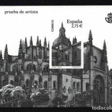 Francobolli: PRUEBA OFICIAL CORREOS DE ESPAÑA – EDIFIL Nº 102 - 2010 CATEDRAL DE SEGOVIA. Lote 224314028