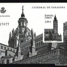 Francobolli: PRUEBA OFICIAL CORREOS DE ESPAÑA – EDIFIL Nº 106 - 2011 CATEDRAL DE TARAZONA. Lote 224314175