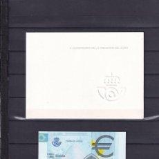 Sellos: SELLOS ESPAÑA OFERTA PRUEBA DE LUJO Nº 98 VALOR DE CATALOGO 14€ CON CARPETILLA ORIGINAL. Lote 244012155