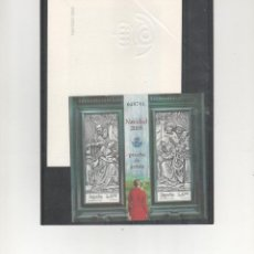 Timbres: ESPAÑA- HOJA PRUEBA Nº 100 NAVIDAD AÑO 2009 (SEGUN FOTO). Lote 229620460
