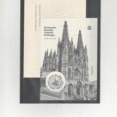 Timbres: ESPAÑA- HOJA PRUEBA Nº 107 CATEDRAL DE BURGOS (SEGUN FOTO). Lote 229620950