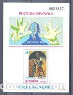 PRUEBA OFICIAL ESPAÑA, EDIFIL 32, SALVADOR DALI (Sellos - España - Pruebas y Minipliegos)