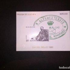 Selos: SELLOS ESPAÑA OFERTA PRUEBA DE LUJO NUMER 20 VALOR DE CATALOGO 20€ IMPECABLE. Lote 235358530