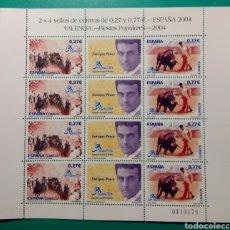 Sellos: ESPAÑA 2004. MINIPLIEGO 8 SELLOS. VALENCIA.. Lote 238663635