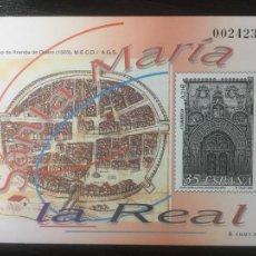 Sellos: PRUEBA FILATÉLICA DE ARTISTA - SANTA MARÍA LA REAL ARANDA DE DUERO 2000 - Nº 73. Lote 243124335