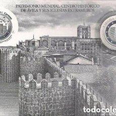 Francobolli: ESPAÑA 2019. PRUEBA OFICIAL . AVILA. CON SELLO EN PLATA. Lote 253133295