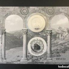 Sellos: ESPAÑA 2017. PRUEBA OFICIAL 131. MONUMENTOS DE OVIEDO. CON SELLO EN PLATA. Lote 244665135