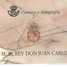 Sellos: ESPAÑA 1998. SM EL REY JUAN CARLOS I. CARNE 3544C. Lote 245070095