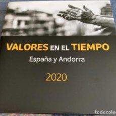 Selos: VALORES EN EL TIEMPO 2020 SELLOS. Lote 249139165