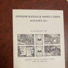 Francobolli: SELLOS ESPAÑA AÑO 1980 PRUEBA DE LUJO Nº 3 EN NEGRO. Lote 252214635