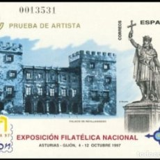 Sellos: PRUEBA DE LUJO, ESPAÑA. AÑO 1997, EDIFIL Nº 64 ''EXFILNA 97 - GIJÓN'' (NUEVA, MNH).. Lote 277114898
