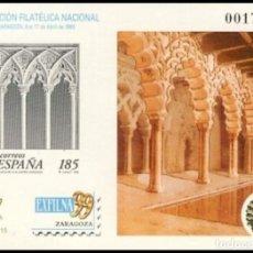 Sellos: PRUEBA DE LUJO, ESPAÑA. AÑO 1999, EDIFIL Nº 68 ''EXFILNA 99 - ZARAGOZA'' (NUEVA, MNH).. Lote 277124353