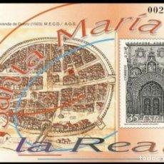 Sellos: PRUEBA DE LUJO, ESPAÑA. AÑO 2000, EDIFIL Nº 73 ''STA Mª LA REAL - ARANDA DE DUERO'' (NUEVA, MNH).. Lote 277129253