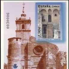 Sellos: PRUEBA DE LUJO, ESPAÑA. AÑO 2004, EDIFIL Nº 83 ''STA. Mª DE CARRACEDO'' (NUEVA, MNH).. Lote 277252988