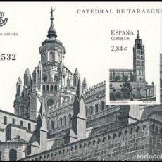 Sellos: PRUEBA DE LUJO, ESPAÑA. AÑO 2011, EDIFIL Nº 106 ''CATEDRAL: TARAZONA'' (NUEVA, MNH).. Lote 277284933