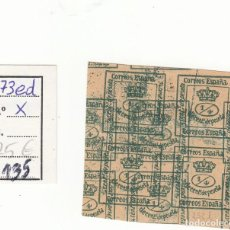 Sellos: CRS0135 SELLO Nº CAT 173ED X DOBLE IMPRESION 65. Lote 277285623